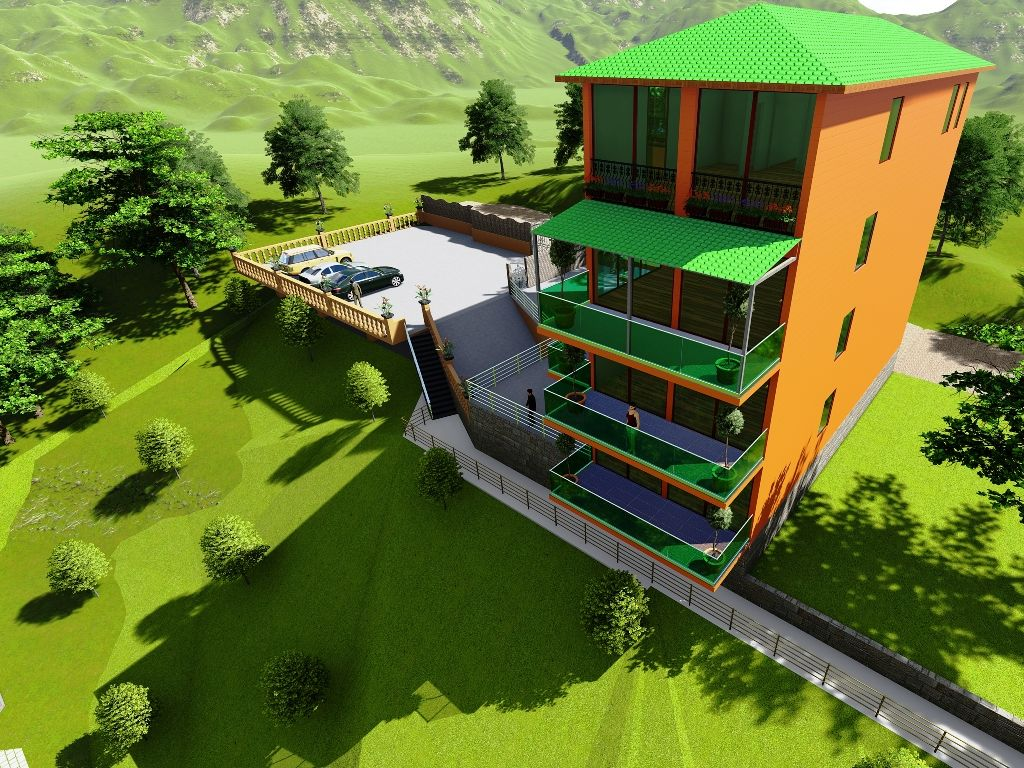 Загородное строительство в Батуми набирает обороты