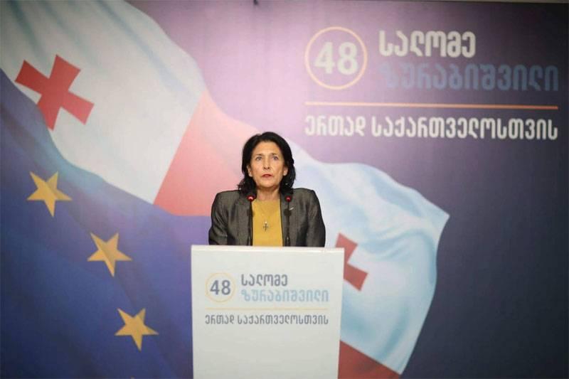 Впервые президентом Грузии стала женщина