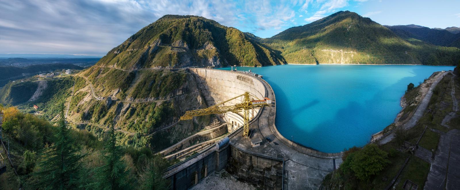 Изменения в проекте обустройства туристического центра Ингури ГЭС
