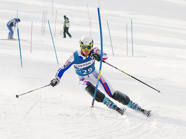 Третий этап горнолыжного Кубка Грузии в Гудаури