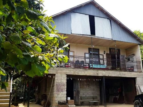 Chakvi, Adjara`s str., 2 storey house with a plot  for sale